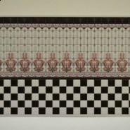 ściana z kafelkami