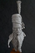 French Hussar Bust