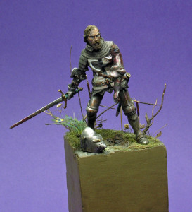 Figurka Krzyżaka 54mm