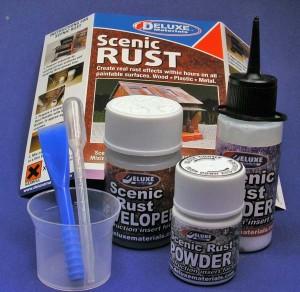 Scenic Rust - Deluxe Materials