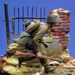 Figurka wśród ruin – krok po kroku
