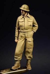 tommy w battle dressie - gotowa figurka