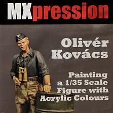 Malowanie farbami akrylowymi figurki w skali 1/35 – recenzja filmu DVD