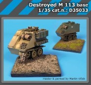 Destroyed M113
