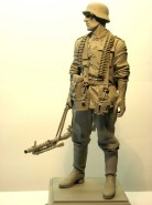 piechur wermachtu z MG 34