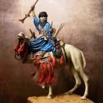 Wojownik Tuaregów – Andrea Miniatures, 54 mm