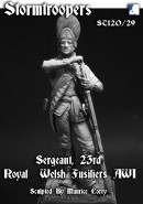 Sergeant 23rd Royal Welsh Fusiliers