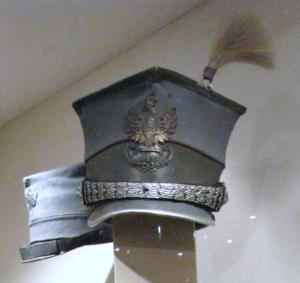 czapka ułanów II brygady legionów
