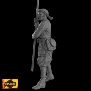 5th New York Zouave Color Bearer
