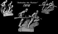 WWI German vignette
