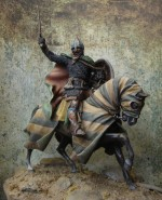 Mounted knight late 12th c