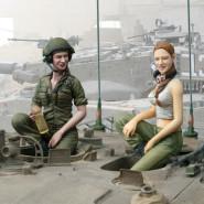 IDF Female Tank Crew