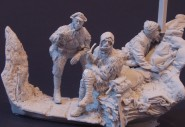 WW1 Allied Trench Scene