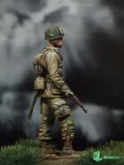 US Paratrooper