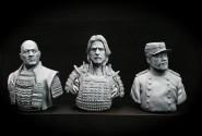Samurai busts