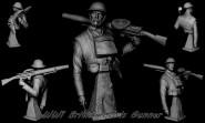 WWI British Lewis Gunner
