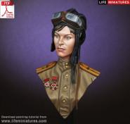 WW2 Soviet Female Tanker