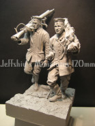 Imperial German soldiers